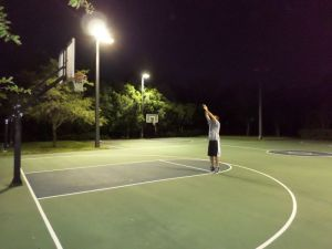 WC basketball court 4 active night
